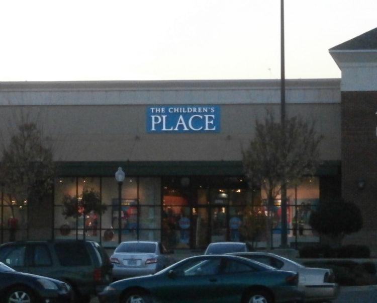 Image of the Children's Place store front