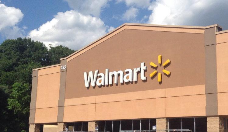 Image of Walmart store.