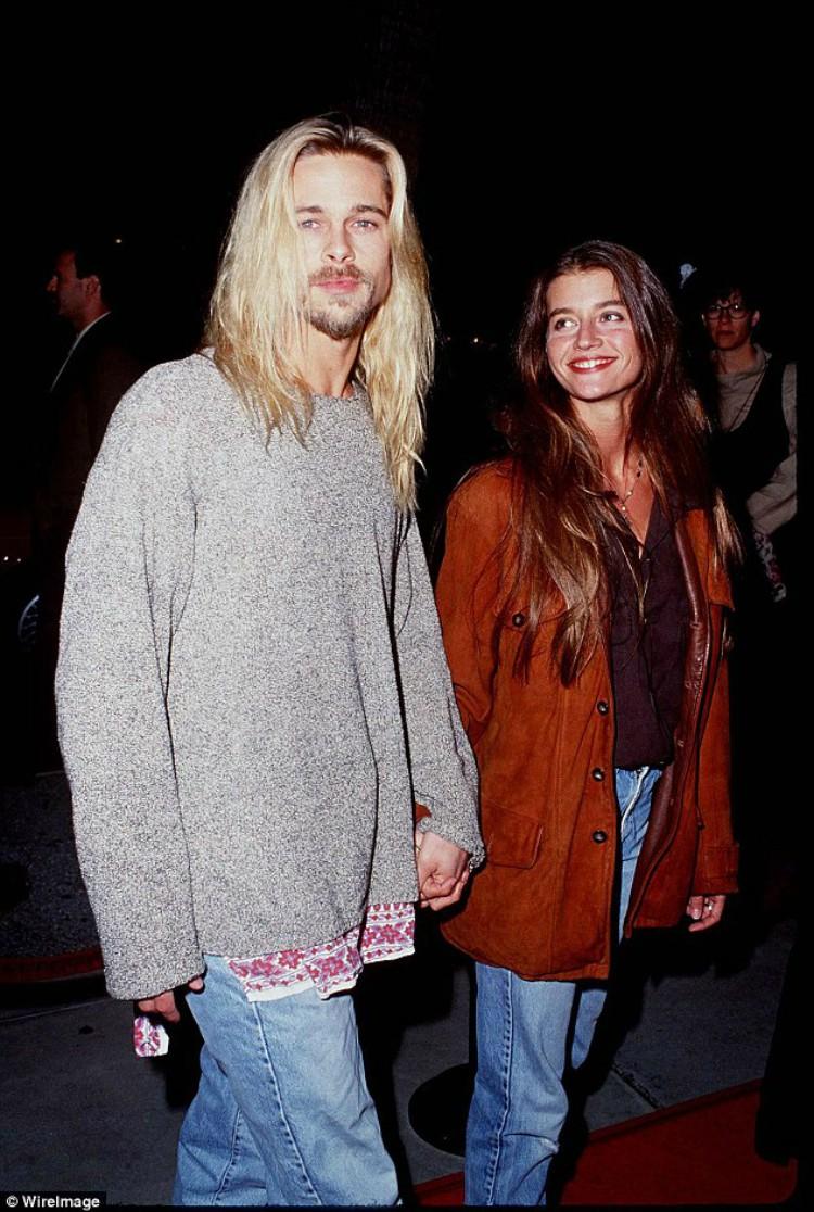 Image of Brad Pitt and Jitka Pohledek