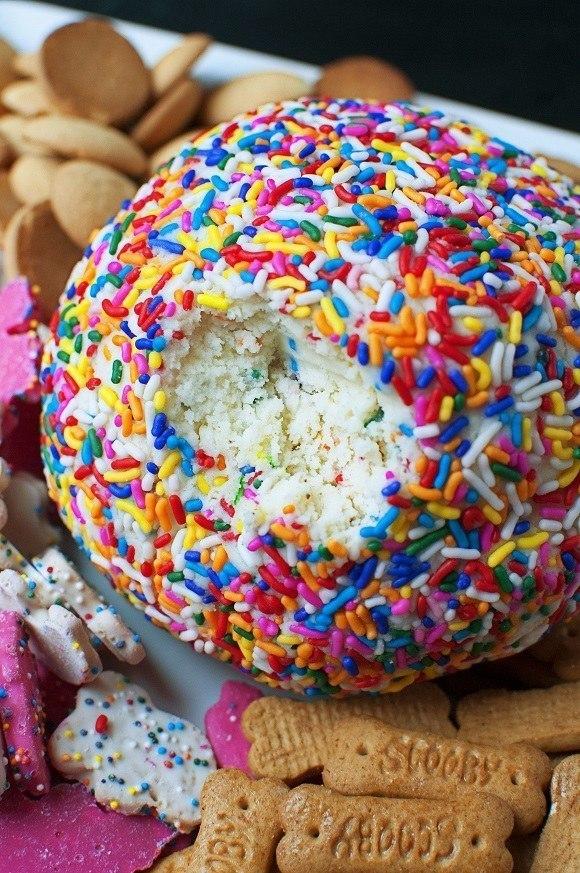 Cake Cheeseball