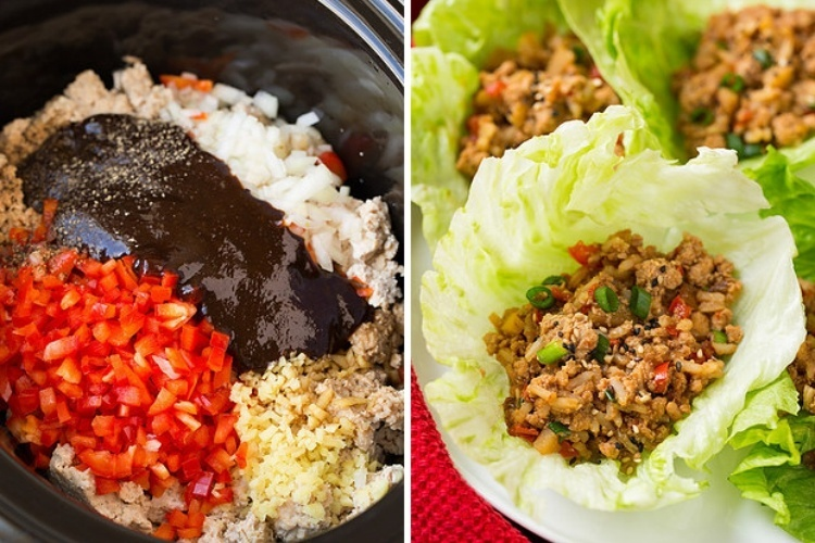 Asian-InspiredChickenLettuceWrapsforList