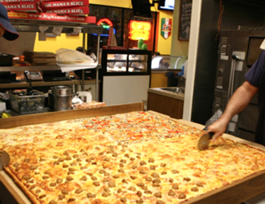 Image of Giant Sicilian from Big Mama's & Papa's Pizzeria in Southern California