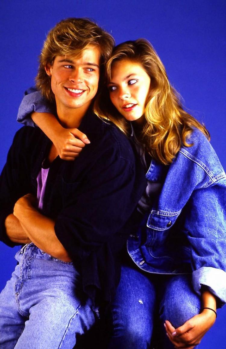 Brad Pitt and Shalene McCall