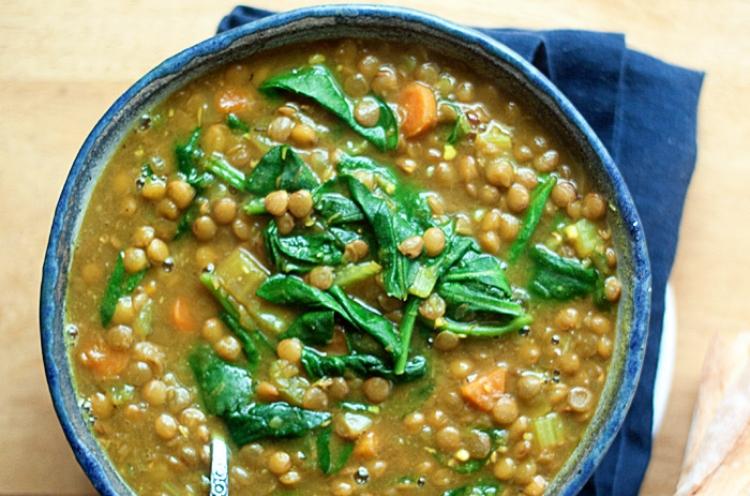 vegsoup lentil