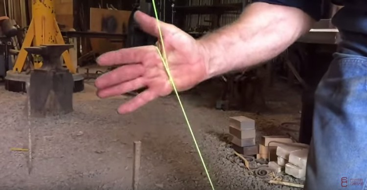 How to cut string with your bare hands.