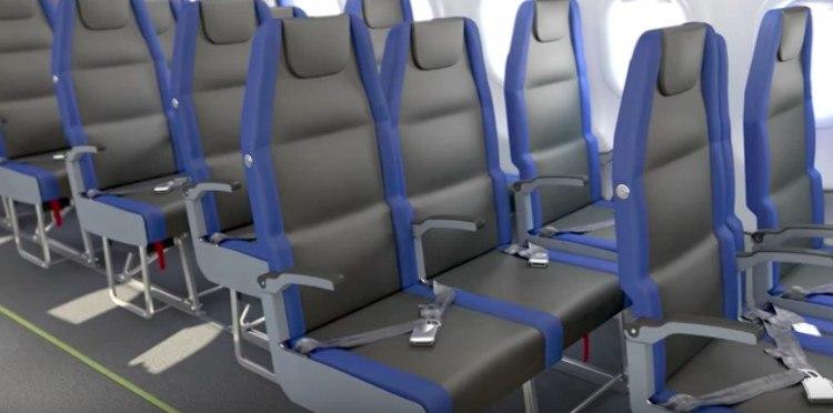 Side-Slip Seat open view