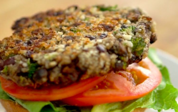 Portabella Veggie Burger