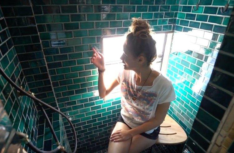 bus apartment bathroom