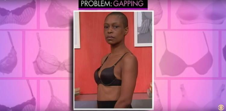 Gapping in bra