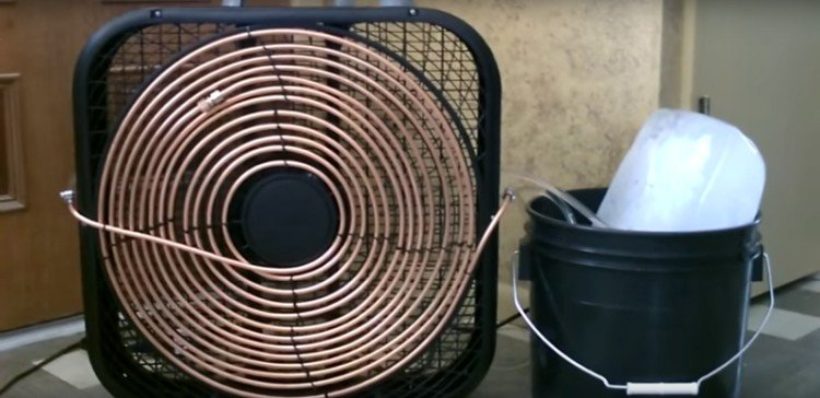 The Easy Diy Way To Turn A Fan Into An Air Conditioner