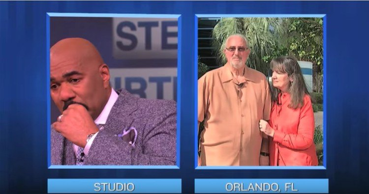Steve Harvey interviews Rich and Becky Liss