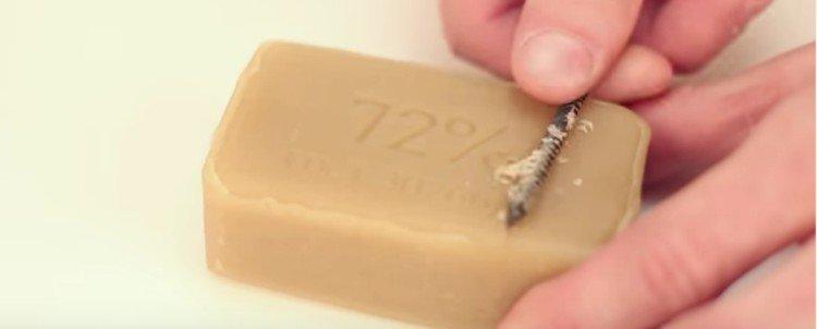 soap screw