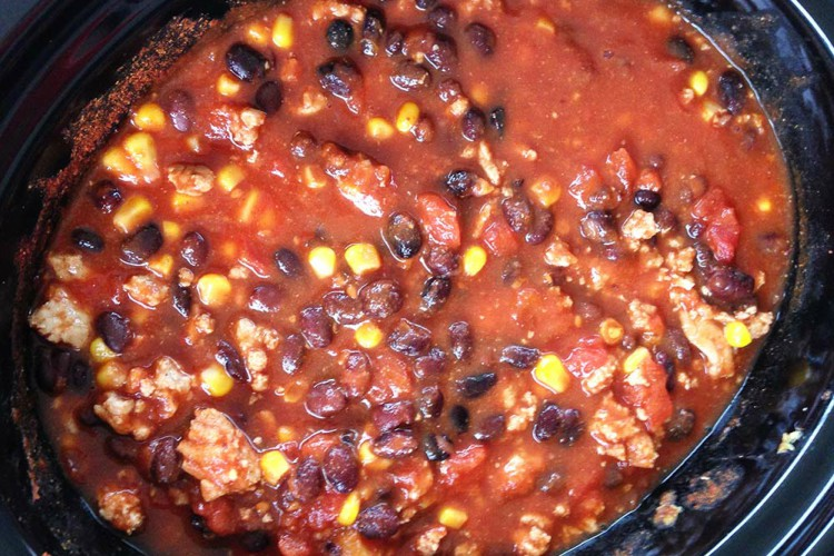 TurkeyBlackBeanChili