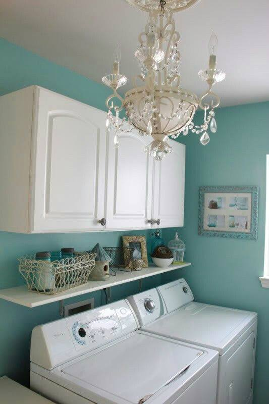 Relaxing Laundry Room