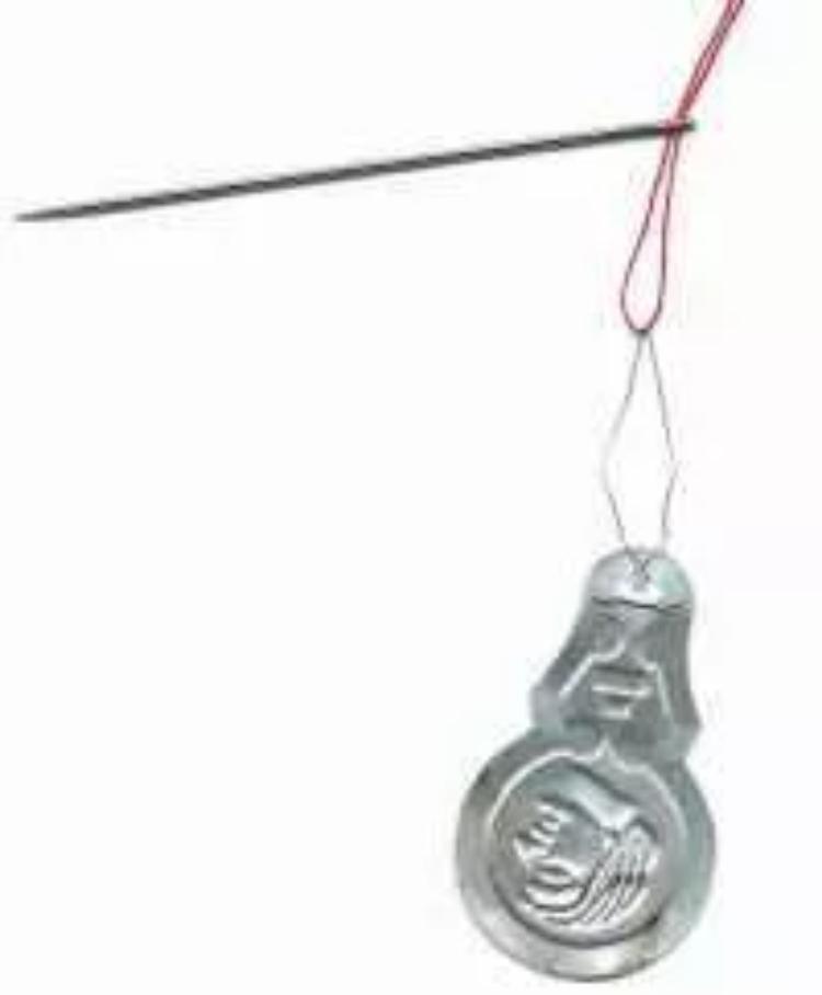 Image of threading a needle