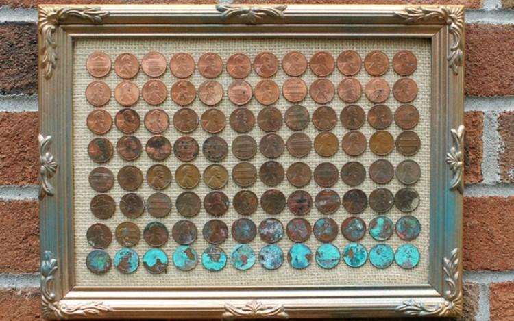 penny framed art