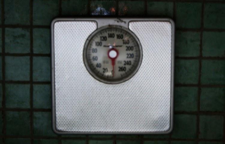 bathroom scale