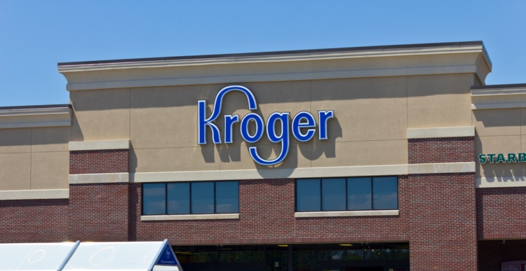 exterior of Kroger store