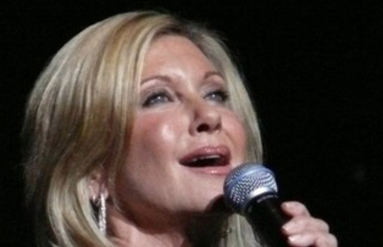 Olivia Newton-John singing