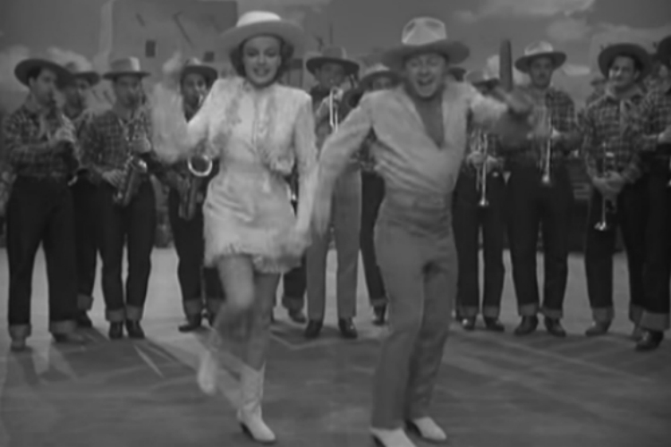 Mickey Rooney and Judy Garland in Girl Crazy