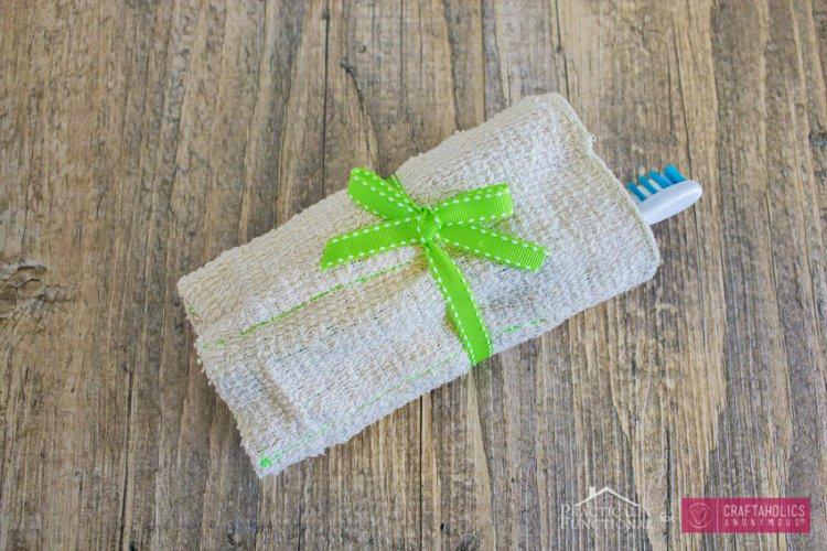 DIY Washcloth Travel Kit 2