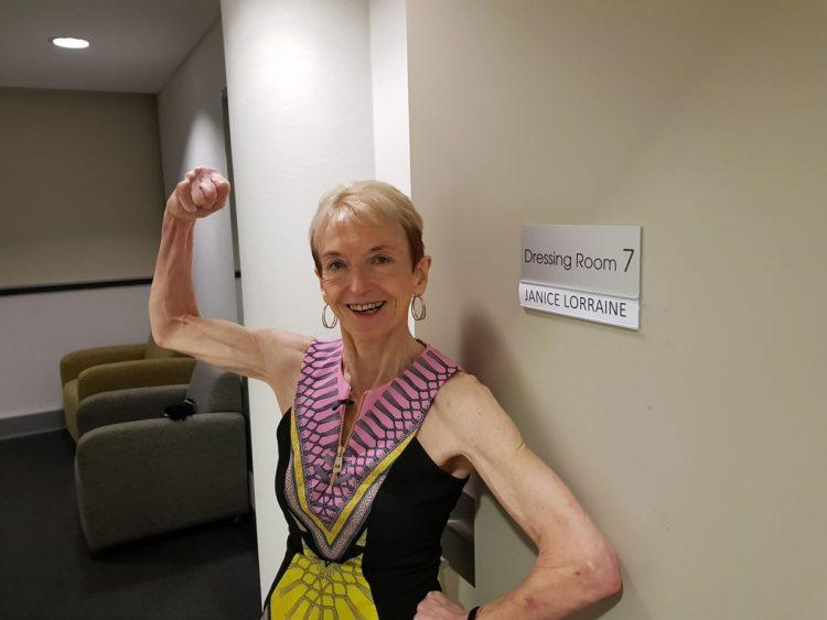 Image of Janice Lorraine, 75-year-old bodybuilder
