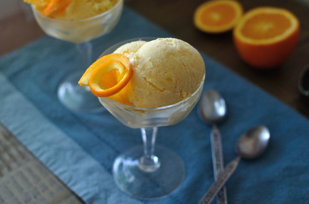 Orange Creamsicle Ice Cream 10