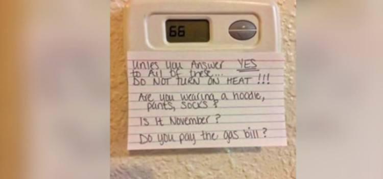 parenting hack thermostat