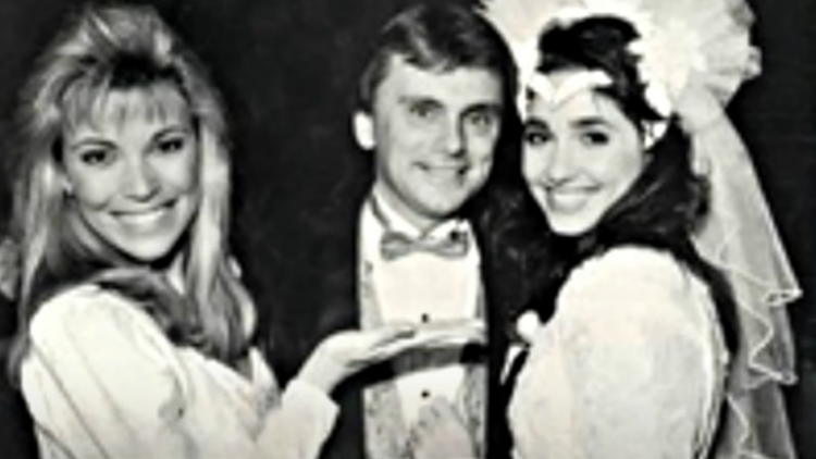 Vanna White, Pat Sajak and Second Wife Lesly Brown