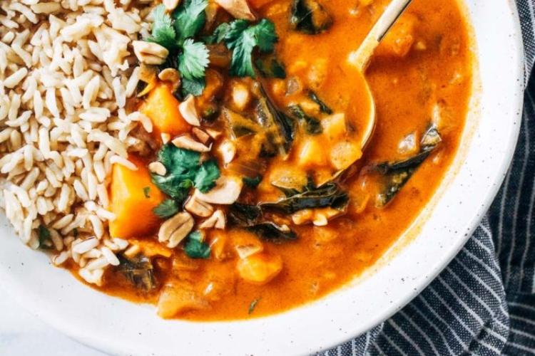 vegsoup African Peanut Stew