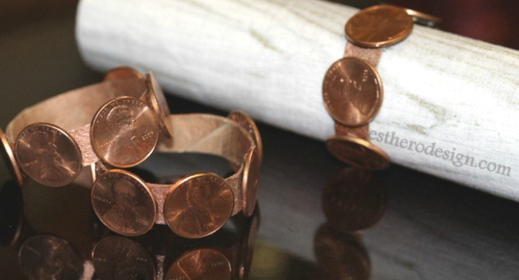 penny napkin ring