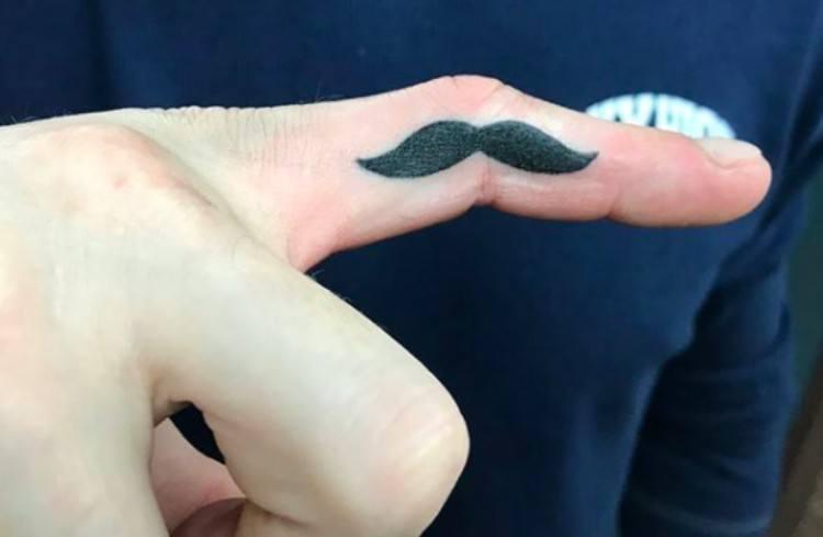 tattoo mustache