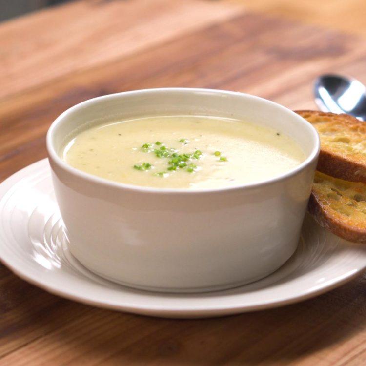 Potato Leek Soup 1