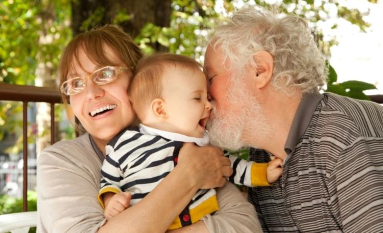grandparents grandkid