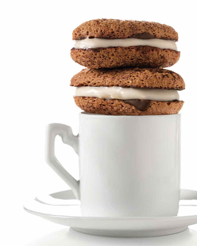 Image of tiramisu cookies on a coffee mug