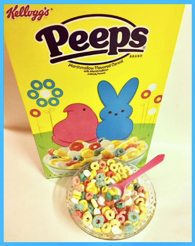 Image of peeps cereal