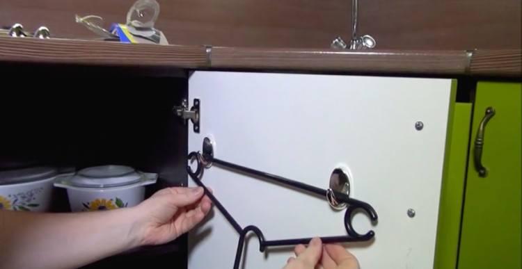 securing first hanger