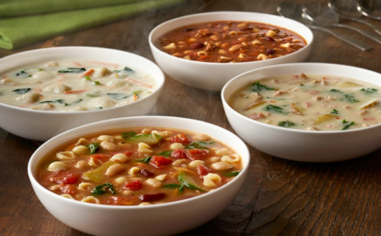 Olive Garden soups
