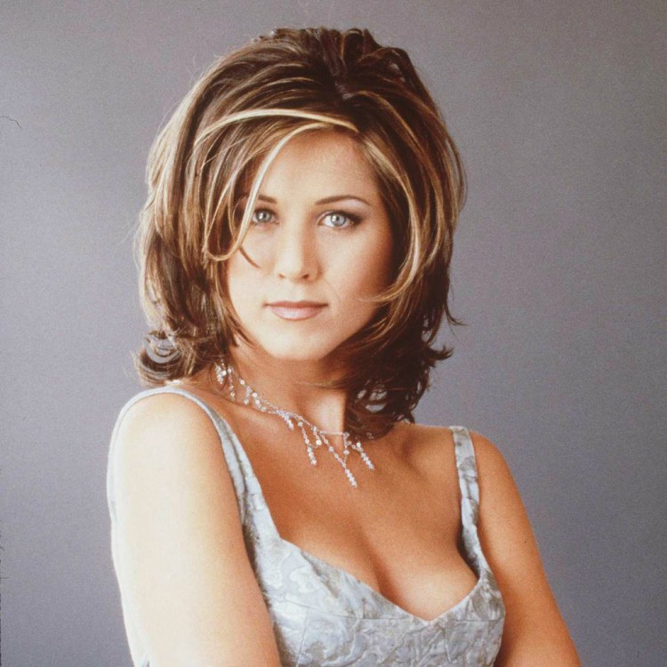 """Image of Jennifer Anniston with """"The Rachel"""""""