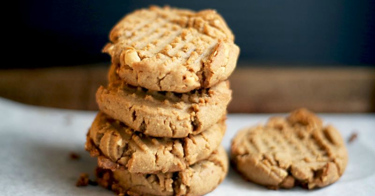 Classic peanut butter cookie recipe.