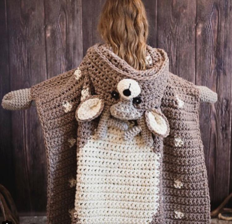 deer crochet