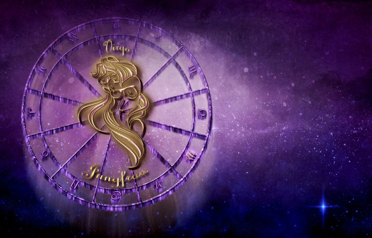 Image of Virgo zodiac sign.