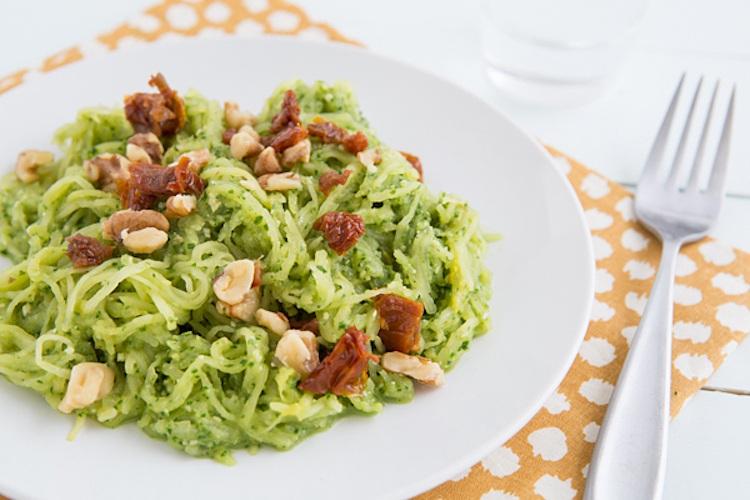 Spaghetti Squash with Kale Pesto 1