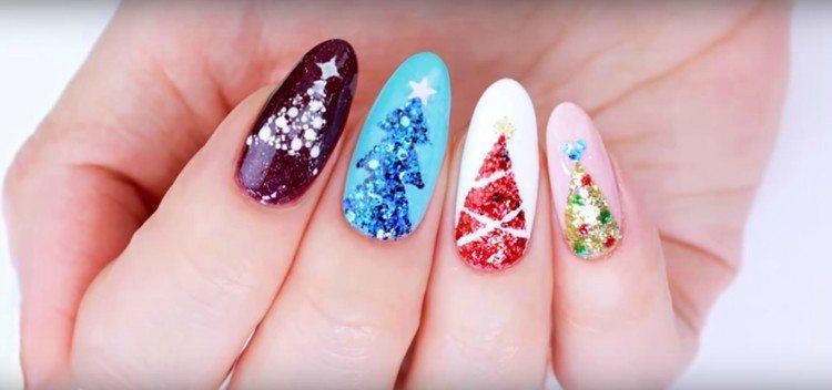 christmas nails designs