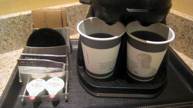 Hotel Coffeemaker