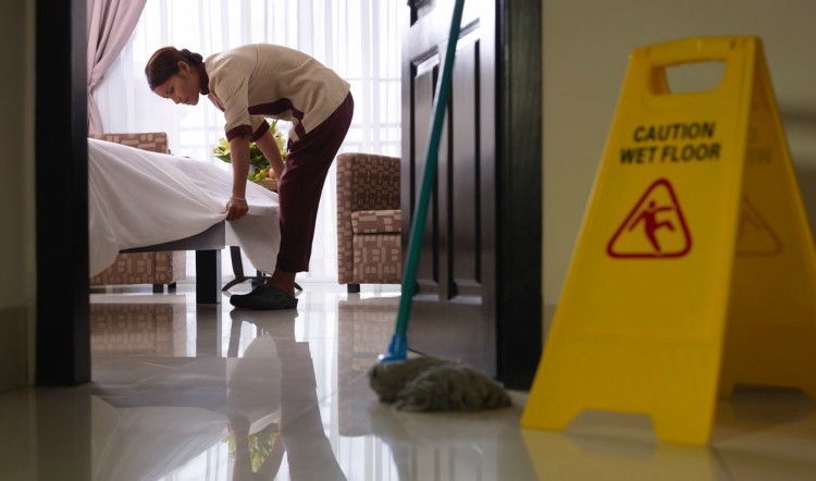 hotel housekeeper