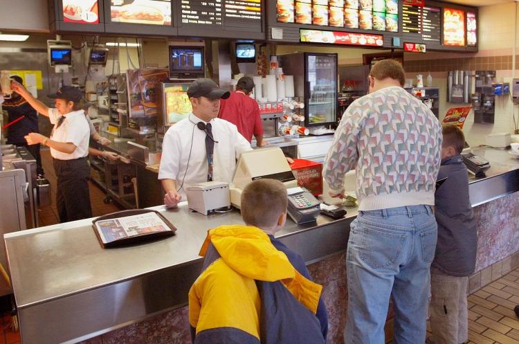 fast food people