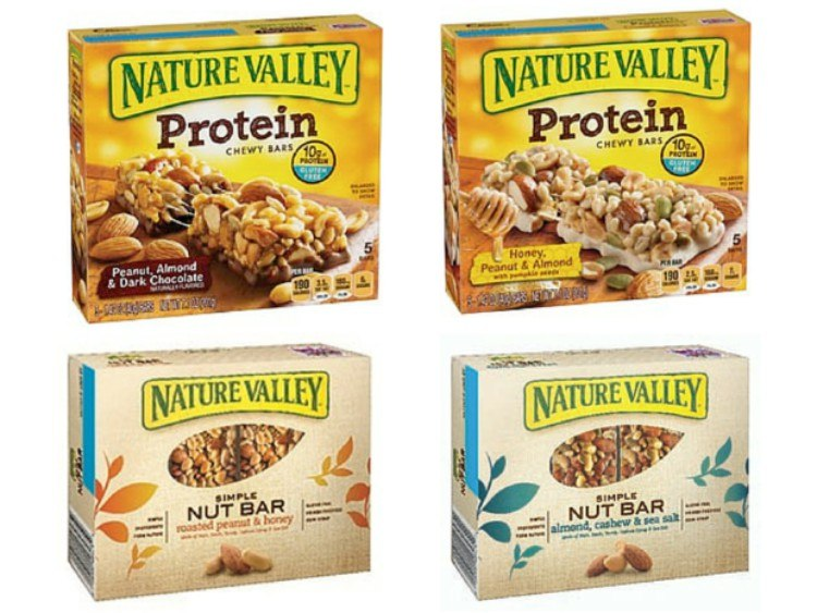 The Natures Valley bars that may be contaminated.