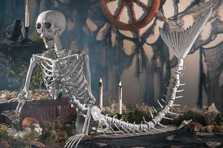 skeleton mermaid featured