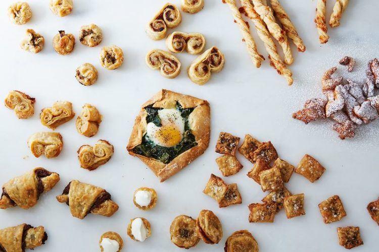 How to utilize pie crust scraps.